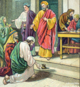 Ananias and Sapphira were horrible communists